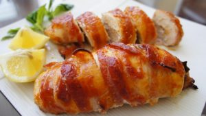 Tarragon Chicken Wrapped in Prosciutto